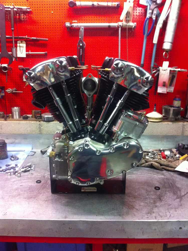Wingpalace The BMX Project engine rebuild progress
