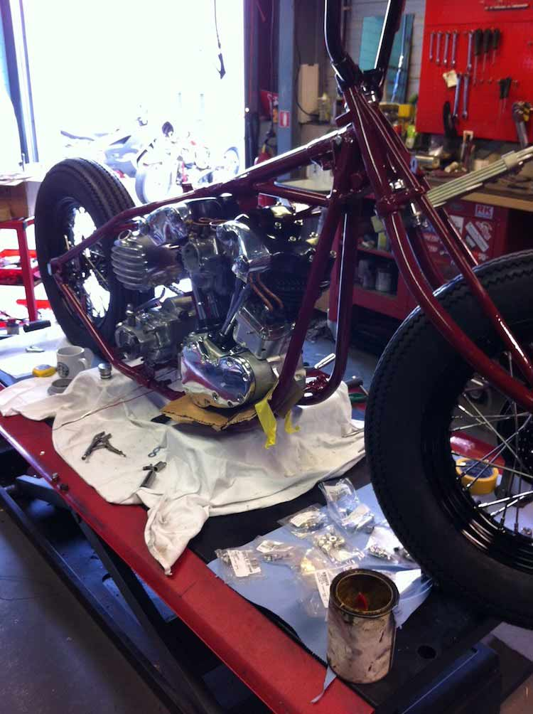 Wingpalace The BMX Project engine fit
