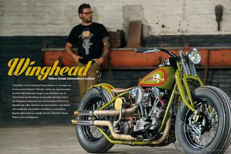 Wingpalace The Green Bobber magazine