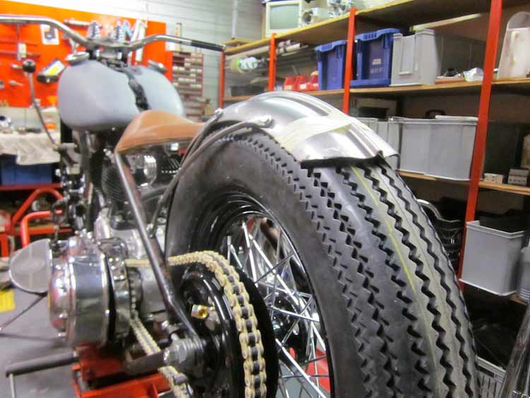 Wingpalace The Green Bobber rear