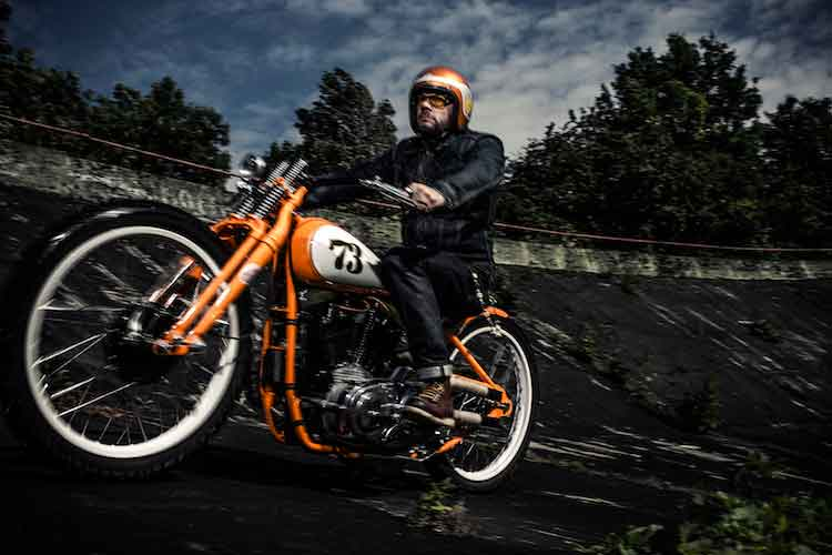Wingpalace The Orange Dirt Tracker photo shoot