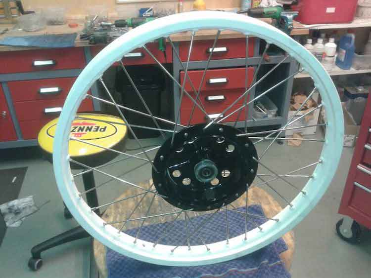 Wingpalace The Orange Dirt Tracker wheel