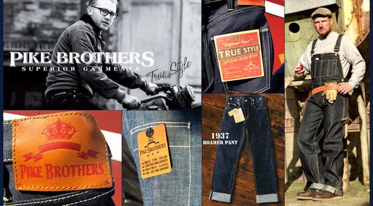Pike Brothers - clothing - Wingpalace motorcycles & repair - Uden