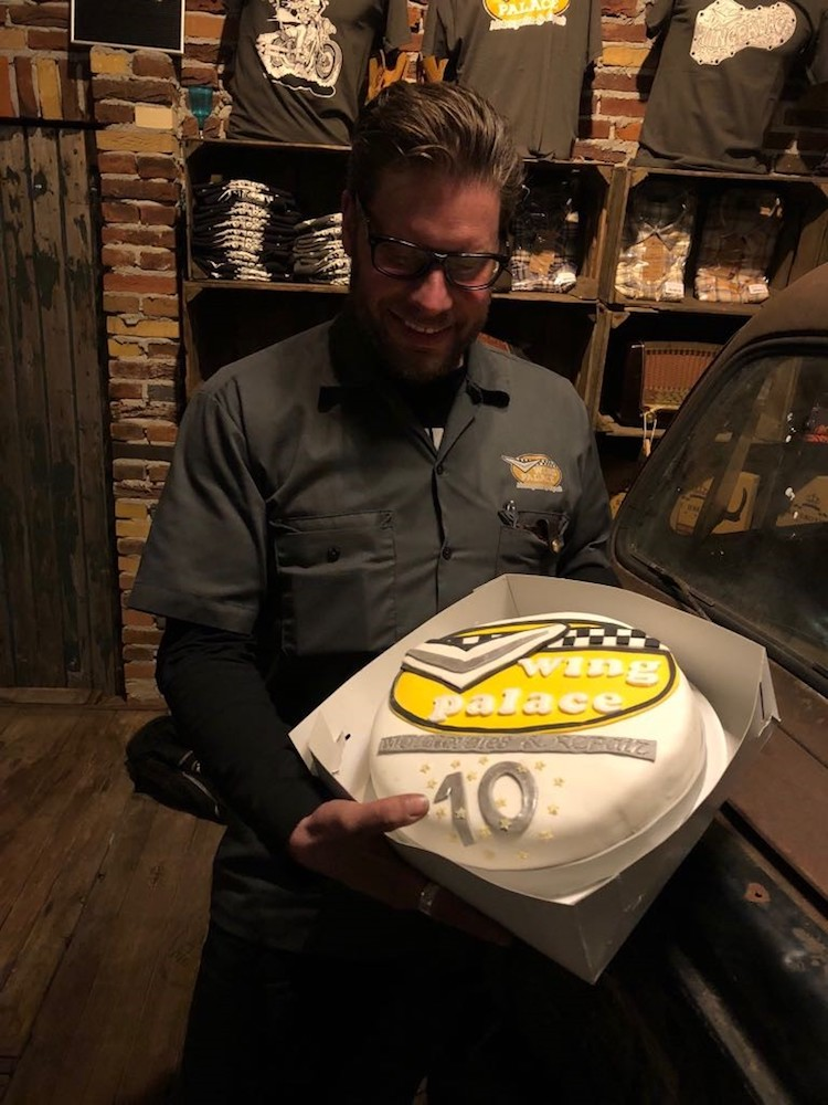Celebrating-10th-anniversary - Wingpalace motorcycles & repair Uden