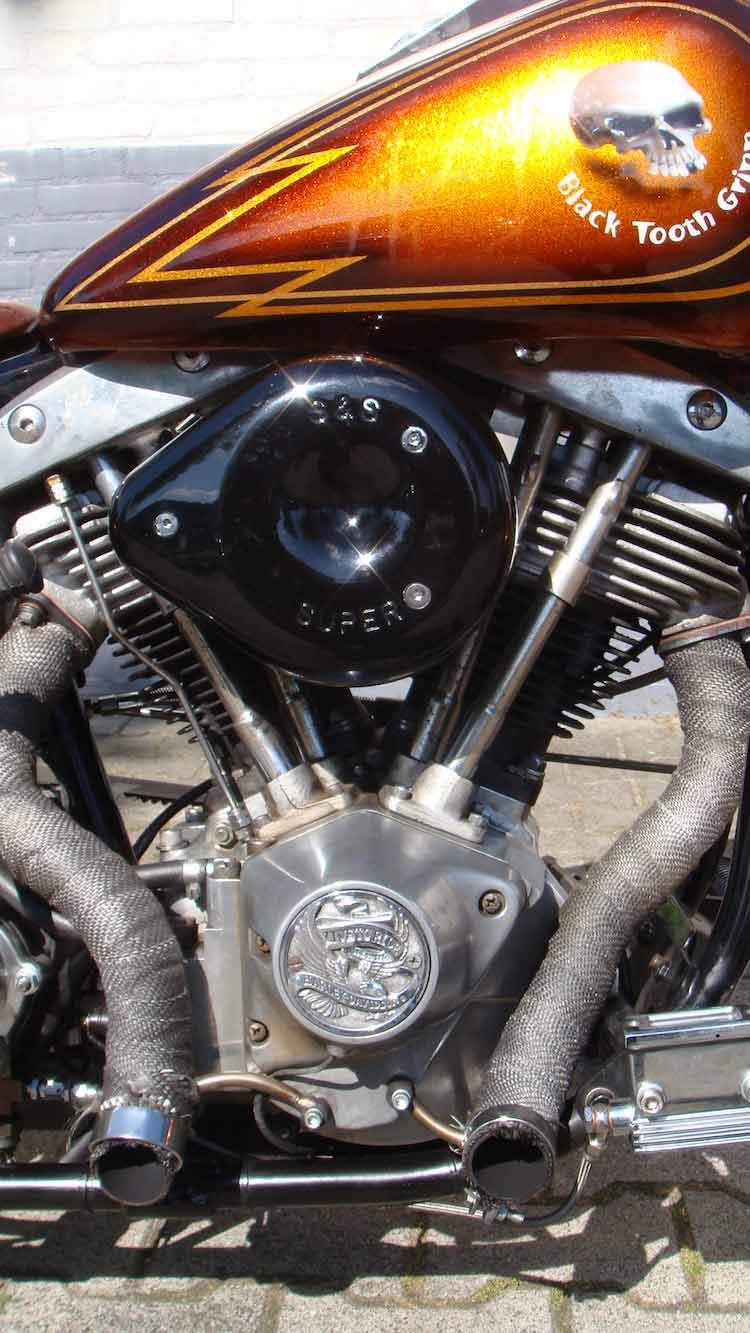 Harley FL 1200 Kustom - For Sale - Wingpalace motorcycles & repair Uden